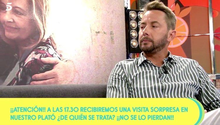 El hijo de Bigote Arrocet hablando sobre su padre | Foto: telecinco.es