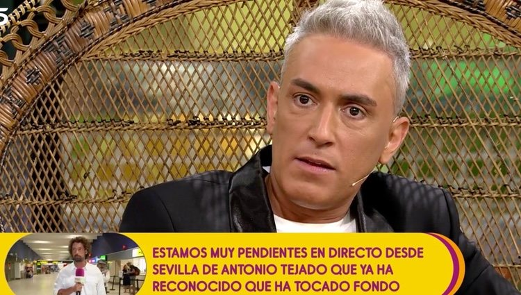 Kiko Hernández confirma que será defensor de Mila Ximénez   Foto: telecinco.es