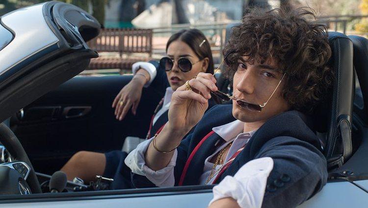 Danna Paola y Jorge López en la nueva temporada de 'Élite'