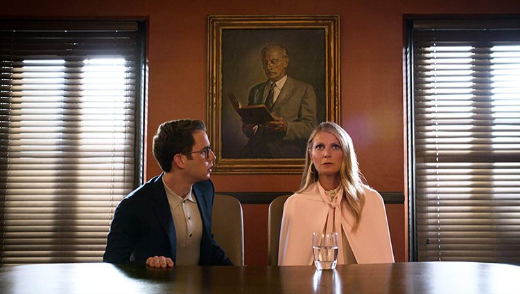 Ben Platt y Gwyneth Paltrow en 'The Politician'