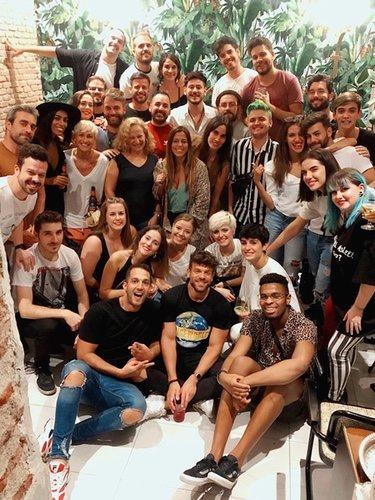 Todos los invitados del cumpleaños de Ricky Merino  Instagram