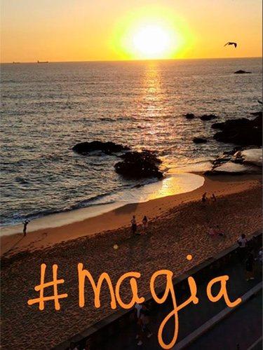 La puesta de sol que ha publicado Iker Casillas/ Foto: Instagram