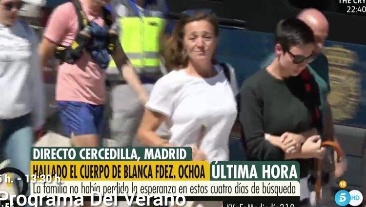 La hermana de Blanca Fernández Ochoa, desolada tras la noticia | Foto: telecinco.es