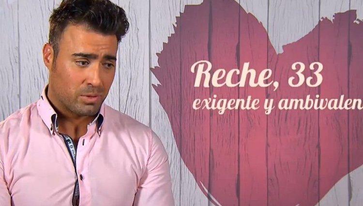 Reche en 'First Dates' | Foto: cuatro.com