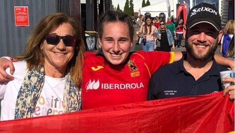 Blanca Fernández Ochoa y sus hijos/Foto:Instagram