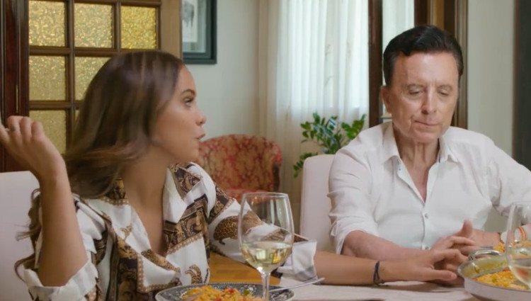 Gloria Camila y José Ortega Cano durante su entrevista en 'Mi casa es la tuya'/Foto:Telecinco
