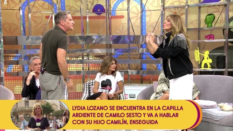 Gustavo González y Raquel Bollo discutiendo | Telecinco.es