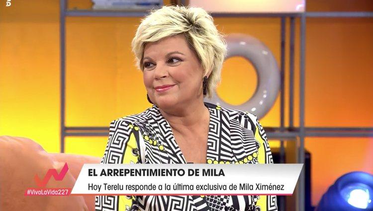 Terelu Campos en 'Viva la Vida'/Foto: telecinco.es