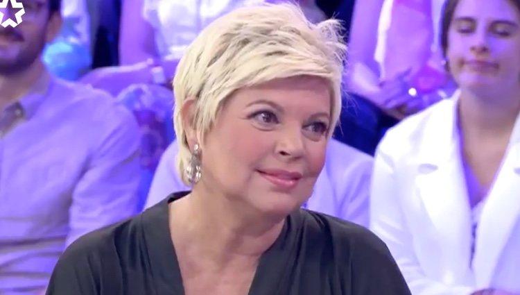 Terelu Campos, emocionada hablando de su faceta profesional | Foto: Telemadrid