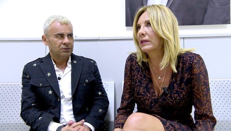 Belén Rodríguez hablando con Jorge Javier Vázquez | Foto: telecinco.es
