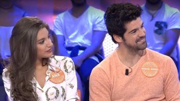 Ana Guerra y Miguel Ángel Muñoz cuando coincidieron en 'Pasapalabra'/ Foto: telecinco.es