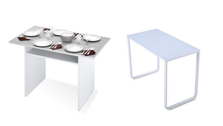 Mesa desplegable y mesa de escritorio o estudio
