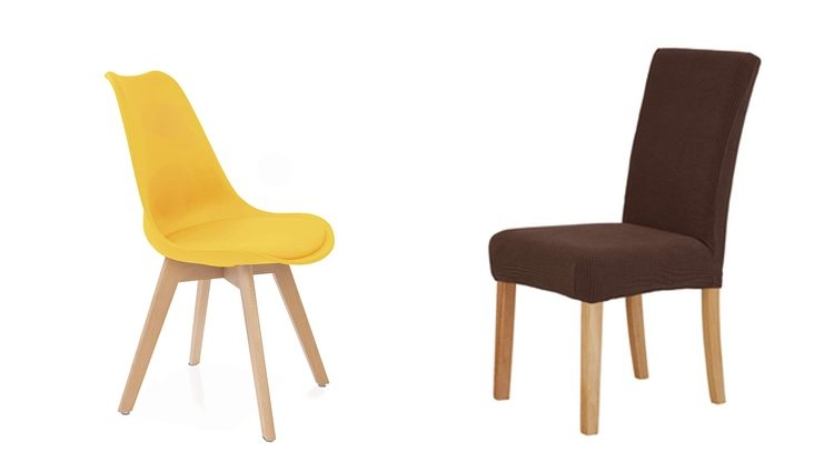 Sillas estilo nórdico y fundas para silla