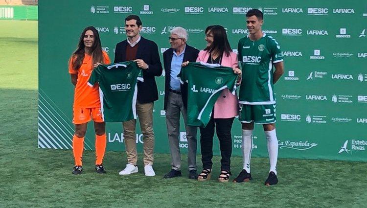 Iker Casillas en el Pozuelo Club de Fútbol/ Foto: Twitter