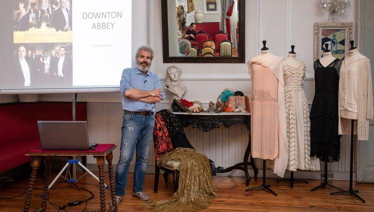 Caprile en 'El papel de la moda en la alta sociedad de la época de Downton Abbey y cómo se ha adaptado a nuestros días' | Foto: Marc Berry Reid</p><p>
