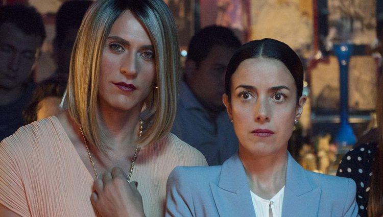 Paco León y Cecilia Suárez en 'La casa de las flores'