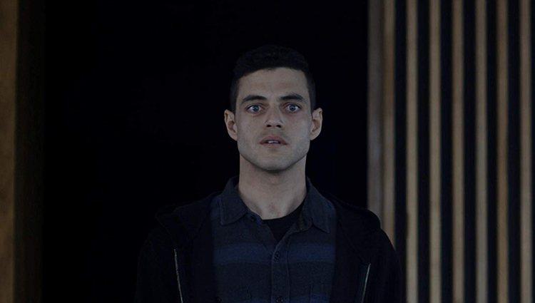 Rami Malek como Elliot Alderson en 'Mr. Robot'