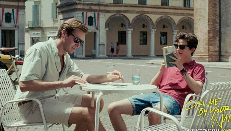 Fotograma de 'Call me by your name'