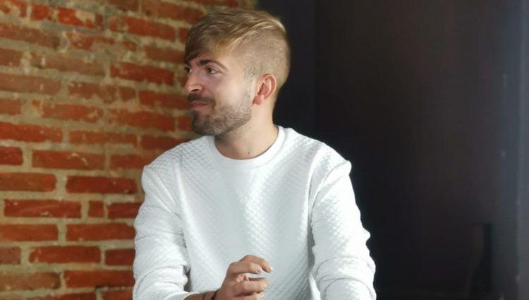 Pablo Pedraza en una foto promocional