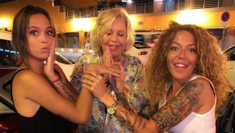 Gloria Camila, Bárbara Rey y Sofía Cristo juntas | Instagram