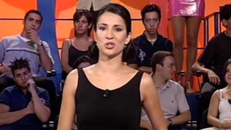 Silvia Jato presentando 'Pasapalabra'/Foto:Youtube
