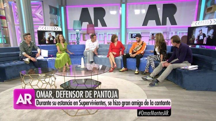 Omar Montes en 'el programa de AR'   Telecinco.es
