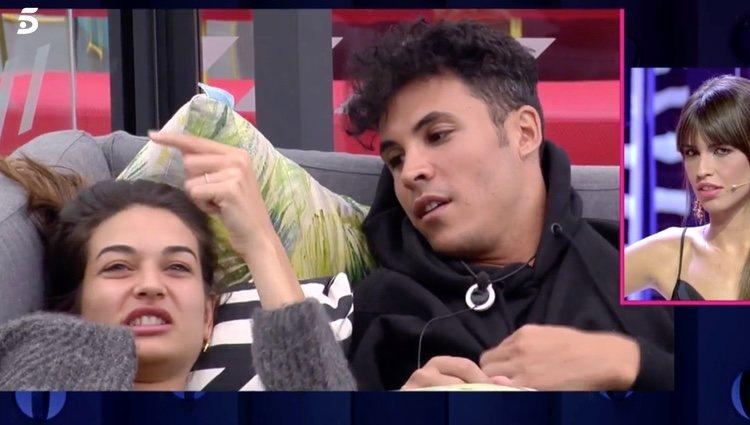 Adara y Kiko aclarando la situación | Foto: telecinco.es