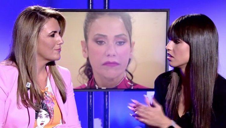 Sofía Suescun explicando su situación a Carlota Corredera | Foto: telecinco.es