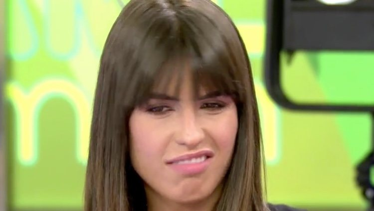 Sofía Suescun, asqueada con la situación | Foto: telecinco.es
