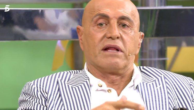 Kiko Matamoros en 'Sálvame'|vía: Telecinco.es