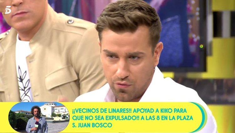 Rafa Mora en 'Sálvame'|vía: Telecinco.es
