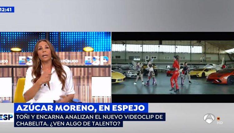 Las Azúcar Moreno en 'Espejo Público' vía: Antena3.com