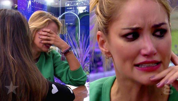Alba Carrillo destrozada en 'GH VIP 7'  vía: Telecinco.es