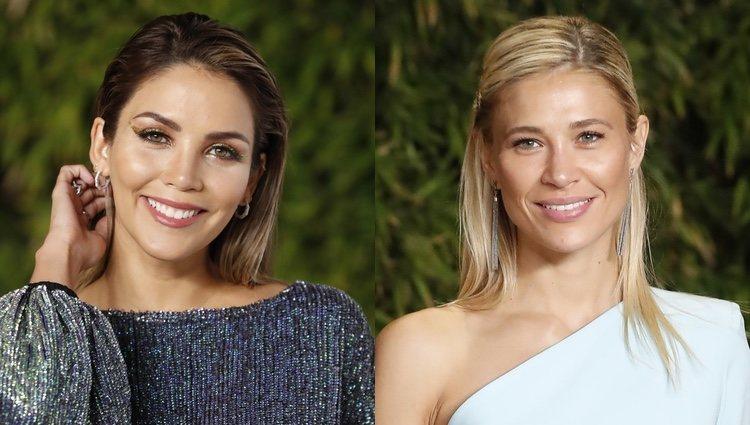 Rosanna Zanetti y Carla Pereyra en el evento de Tacha Beauty
