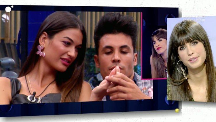 Sofía Suescun viendo los vídeos de Kiko Jiménez con Estela Grande / Cuatro.com