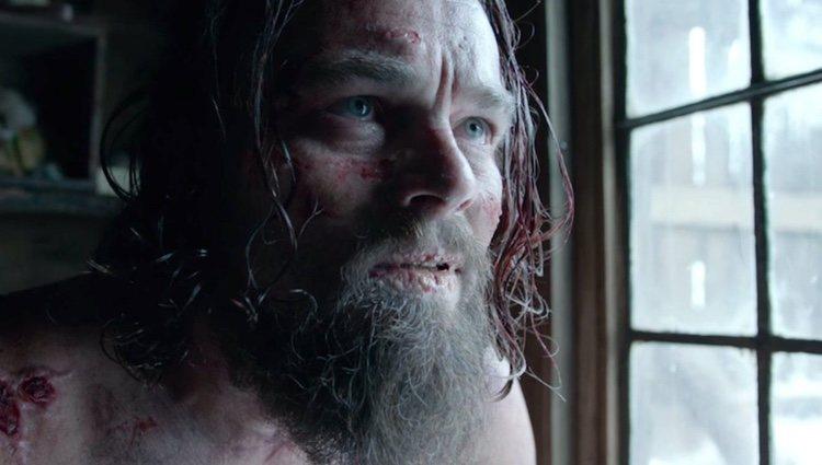 Leonardo DiCaprio en un fotograma de 'El renacido'