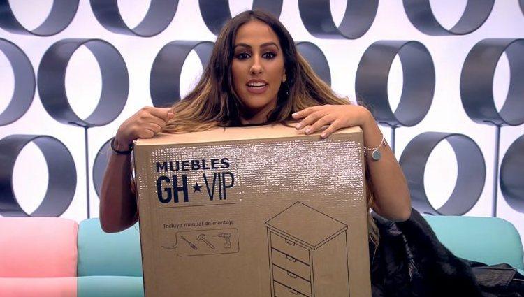 Noemí, mueble de 'GH VIP 7' | cuatro.com