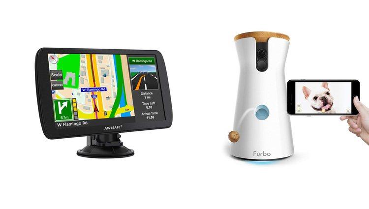 Cámara para perros FURBO y GPS para camiones