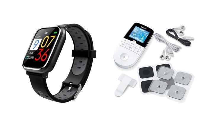 Reloj de pulsera fitness y electroestimulador Beurer