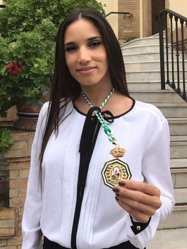India Martínez tras recibir la Medalla de Andalucía en 2017/Foto:Instagram