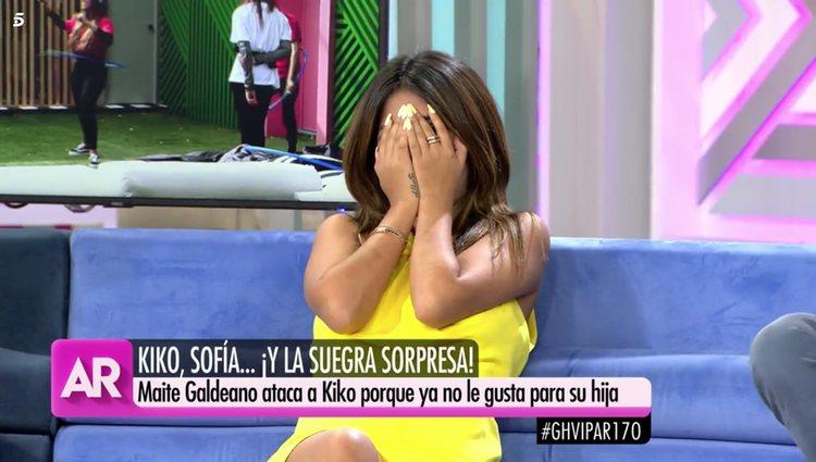 Chabelita Pantoja arrepentida de lo que ha dicho/Foto: telecinco.es