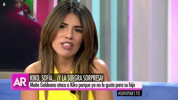 Chabelita Pantoja en 'El programa de Ana Rosa'/Foto: telecinco.es