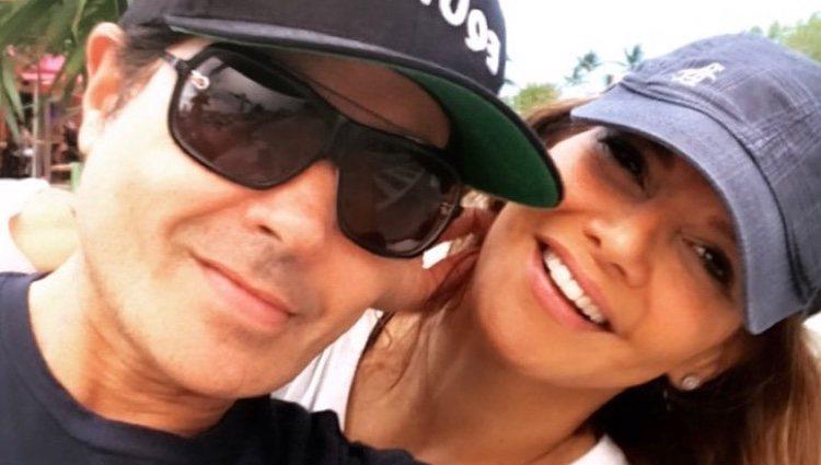 Ivonne Reyes con su novio, el actor venezolano Gabriel Fernández / Foto: Instagram
