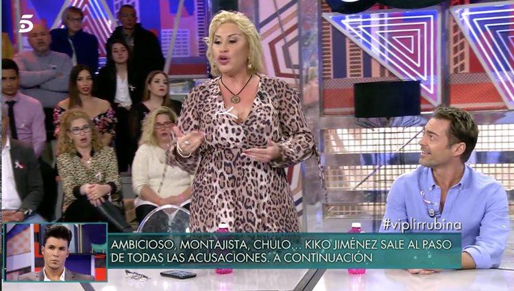 Raquel Mosquera estalla contra Belén Rodríguez / Foto: telencinco.es