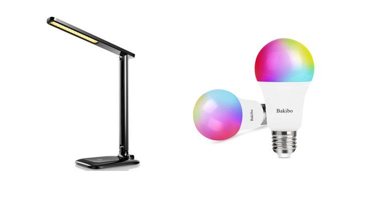 Bakibo bombilla y lámpara
