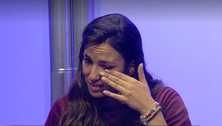 Irene Junquera estuvo bastante angustiada dentro de la casa | Foto: Telecinco.es