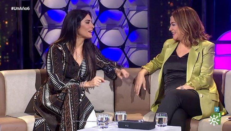 Pilar Rubio en el programa de Toñi Moreno / Canalsur.es