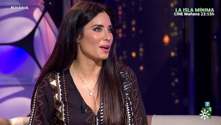 Pilar Rubio hablando de su vida familiar / Canalsur.es