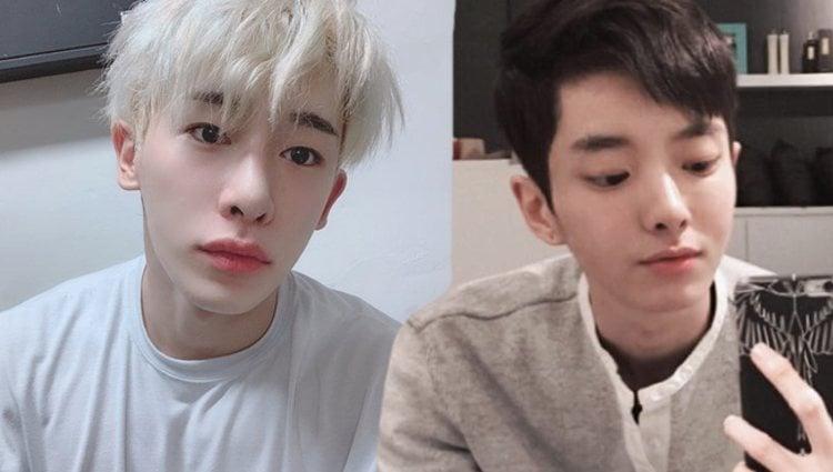 Wonho y Jung Da Eun   Instagram
