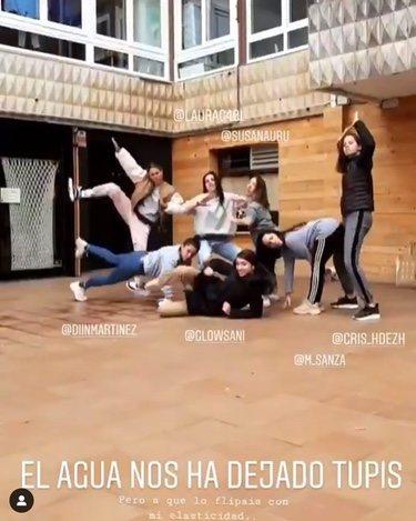 Captura del vídeo que ha subido Blanca Suárez/ Vídeo: Instagram